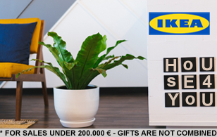 200 Euros Gift Cart at IKEA
