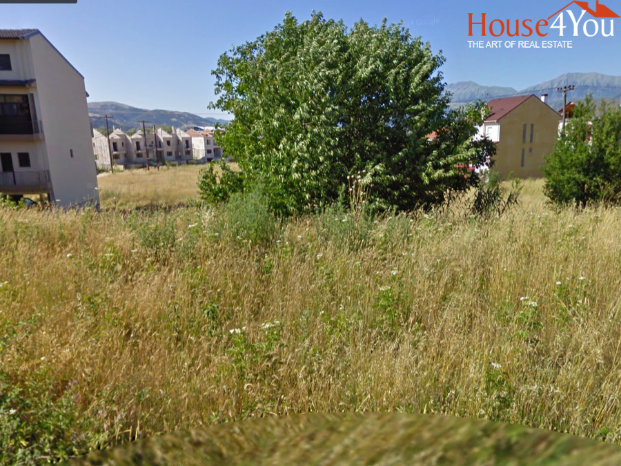 For sale plot of 1527sqm. with SD. 0.6 in Boreiou Ipirou Street in the Anatoli of Ioannina, near Panipiprotiko Stadium