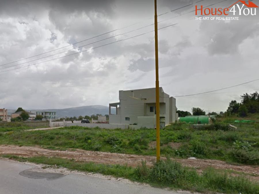 Πωλείται γωνιακό οικόπεδο 842 τμ. με ΣΔ. 0.5 στην Πεδινή Ιωαννίνων