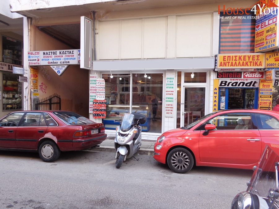 For sale commercial space with total 135sqm. in Adamantios Korais in the center of Ioannina