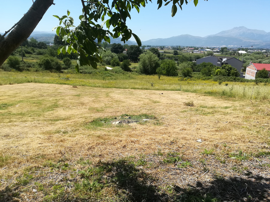 For sale land 553 sqm with building factor. 0.6 in Eptalofou east of Ioannina with nice view