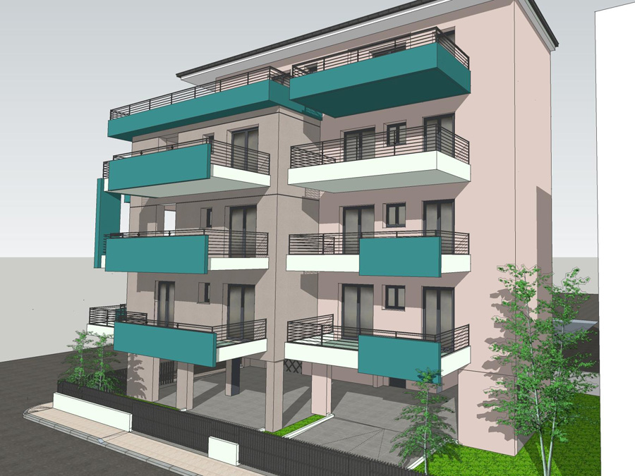 For sale under construction 1 bed appartment 39.5 sq.m. 4th floor in the center of Ioannina with parking and storage