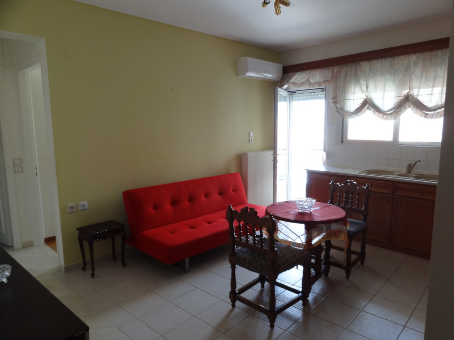 Rent a fully furnished apartment with 1 bedroom 45 sq.m. 4th floor near Alsos in Ioannina