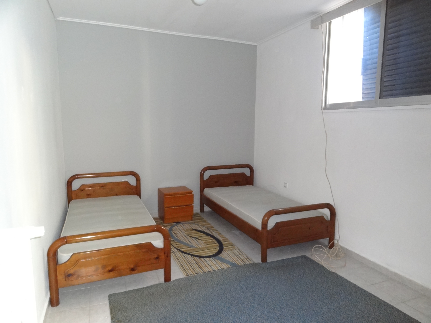 For rent two-room studio of 30 sq.m. ground floor in the area of the stadium in Ioannina