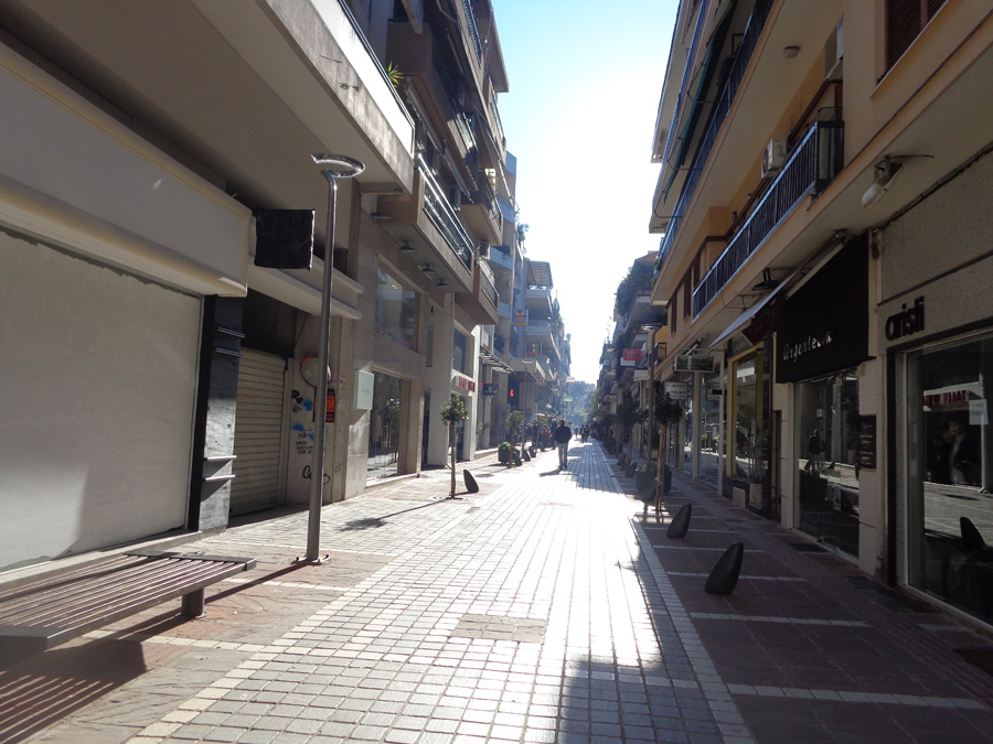 Commercial space for rent 530 sq.m. in the pedestrian center in Ioannina