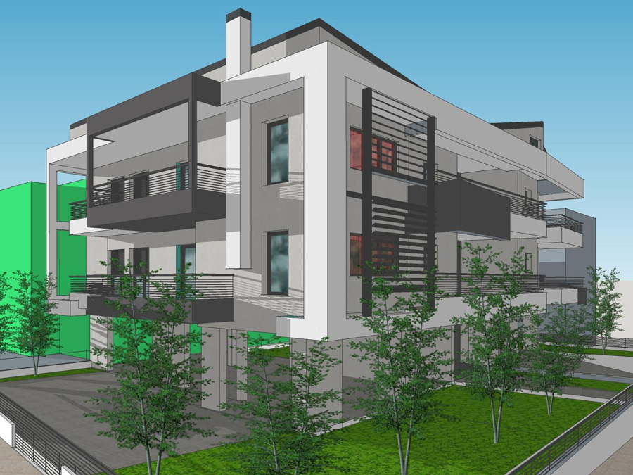 For sale under construction 3 bedroom apartment 120 sq.m. 1st floor in the area of Kiafa in Ioannina