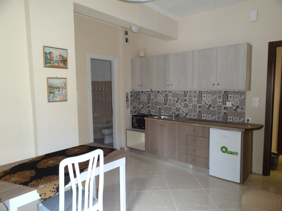 For rent fully furnished studio of 40 sq.m. 2nd floor near the stadium near the center of Ioannina