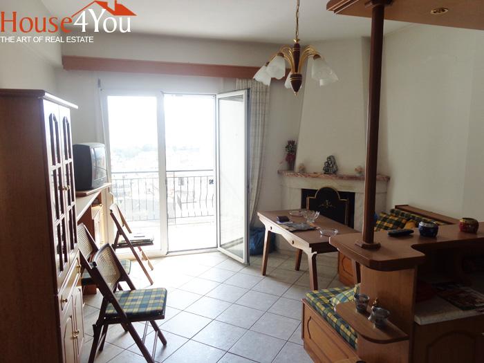 Πωλείται επιπλωμένο διαμέρισμα 55 τμ. 5ου ορόφου στο κέντρο των Ιωαννίνων πλησίον οδού Ρώμα