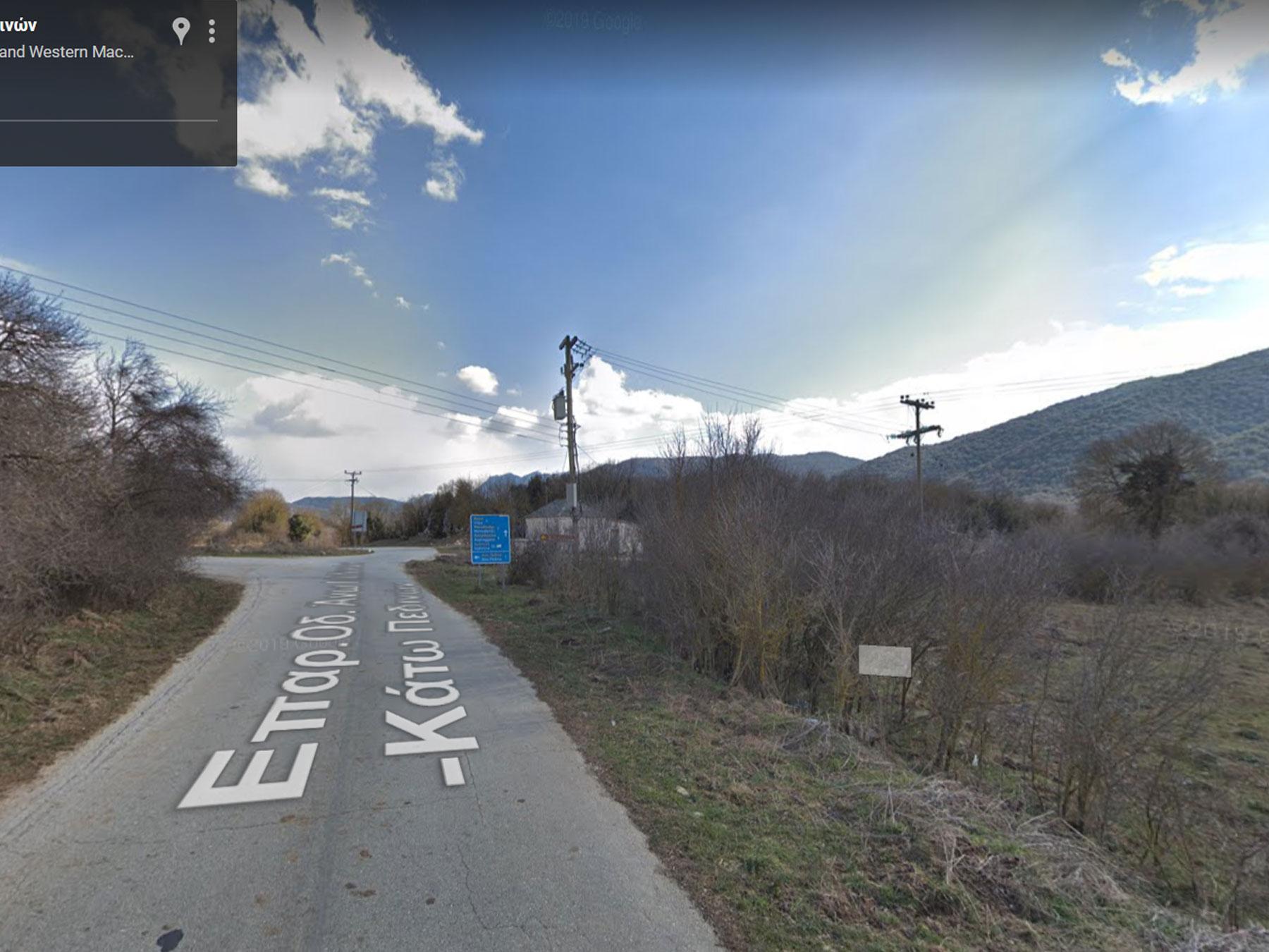 For sale a buildable plot of 4084 sq.m. in Ano Pedina in Central Zagori