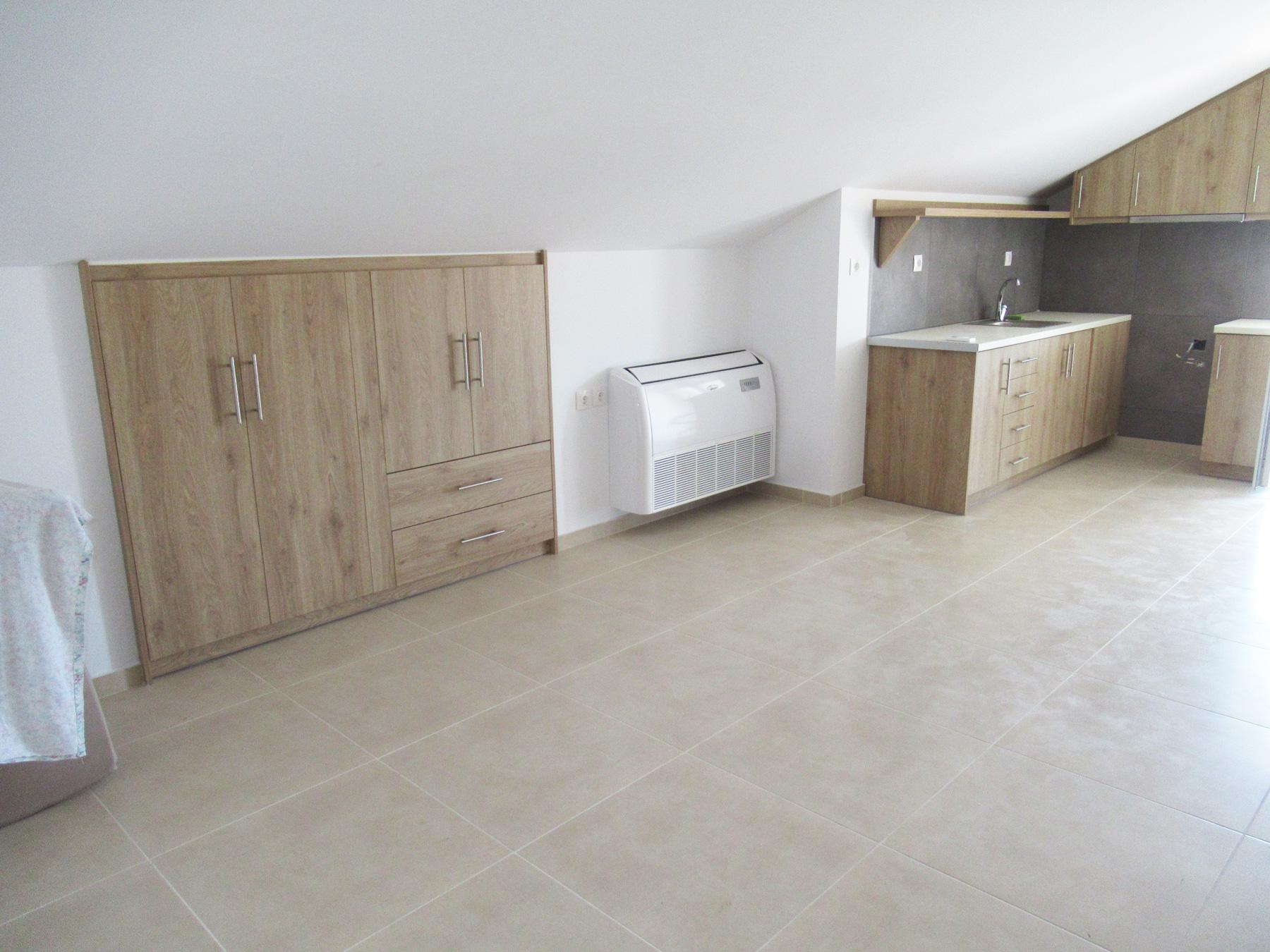 Newly built studio type loft of 35 sq.m. on the 2nd floor in Anatoli in Ioannina