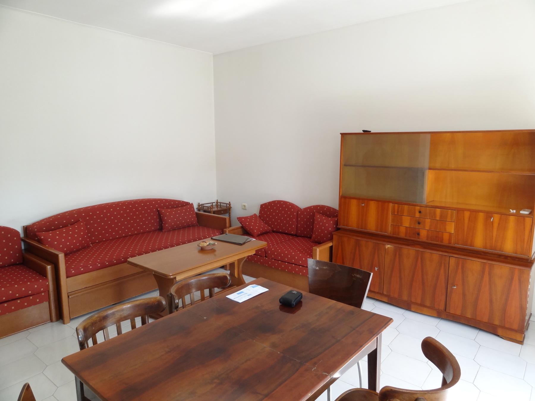 For rent furnished 1 bedroom apartment of 45 sq.m. 1st floor near the bus station in Ioannina