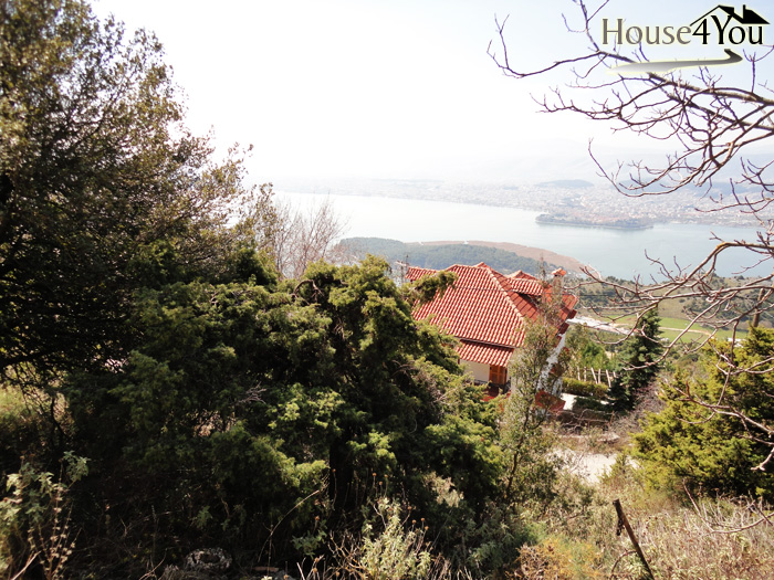For sale a plot of 701 sqm in Ligiades of Ioannina with very nice view