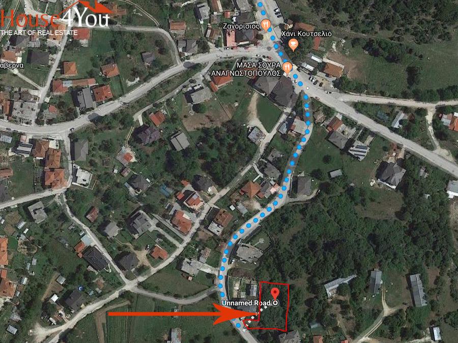 Πωλείται οικόπεδο 906 τμ. στο Κουτσελιό Ιωαννίνων με δόμηση 400τμ.