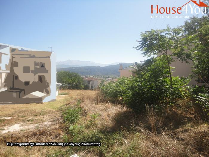 Πωλείται οικόπεδο 450τμ. με ΣΔ. 0.6 στον λόφο του Κατσικά Ιωαννίνων με ωραία θέα