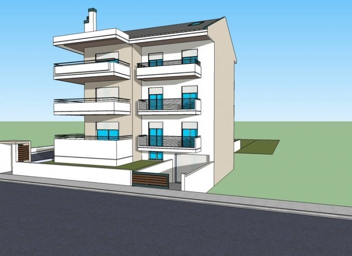 Πωλείται καινούργιο 3αρι διαμέρισμα 86 τμ. υπερυψωμένο ισόγειο του 2015 σε καλή περιοχή στα Γιάννενα