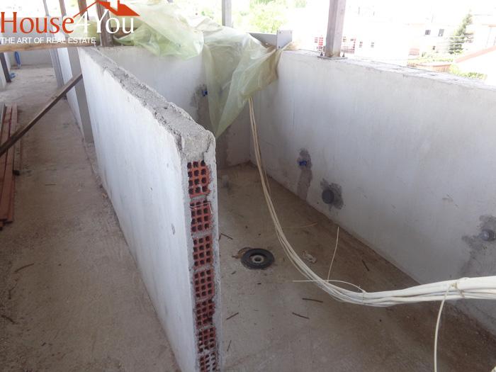 Πωλείται δίχωρη γκαρσονιέρα 38τμ. υπο κατασκευή 3ου ορόφου στα Σεισμόπληκτα Ιωαννίνων