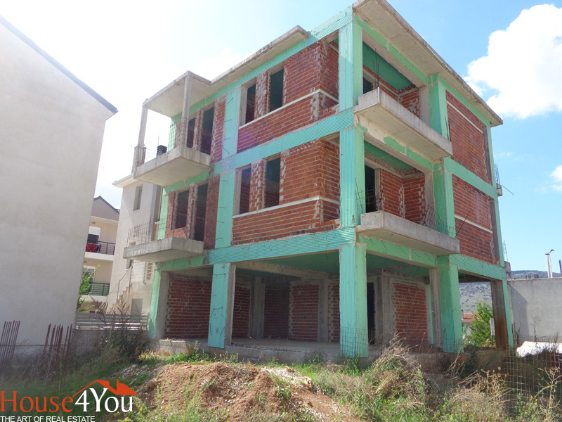 For sale unfinished maisonette 130sqm. 2011 in Kardamitsia, Ioannina