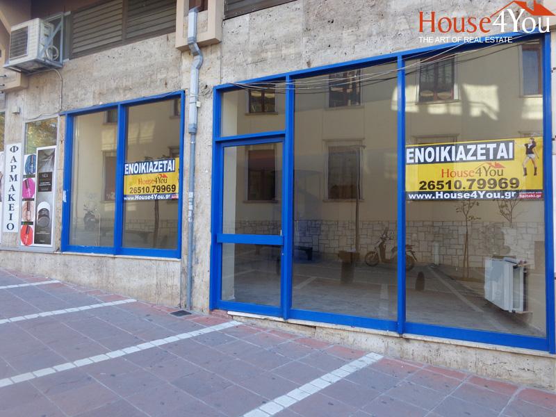 Ενοικιάζεται επαγγελματικός χώρος 135 τμ. στην Μιχαήλ Αγγέλου 2 στο κέντρο της αγοράς των Ιωαννίνων