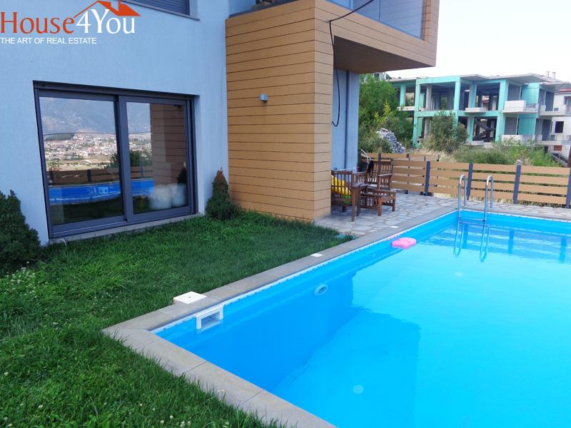 Πωλείται μονοκατοικία πολυτελείας 134τμ. κατασκευής 2013 με πολύ ωραία θέα στην Ολυμπιάδα Ιωαννίνων