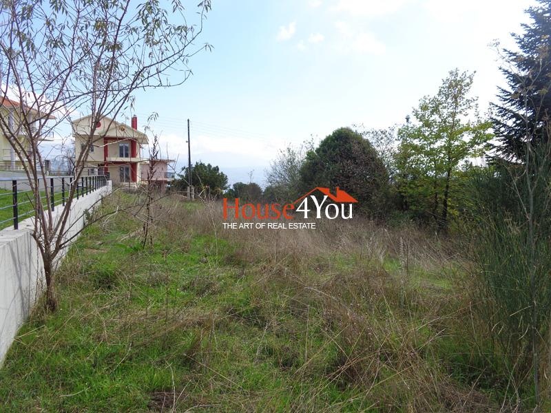 Πωλείται οικόπεδο 547τμ. με ΣΔ. 0.4 και όμορφη θέα στην Δροσιά Ιωαννίνων
