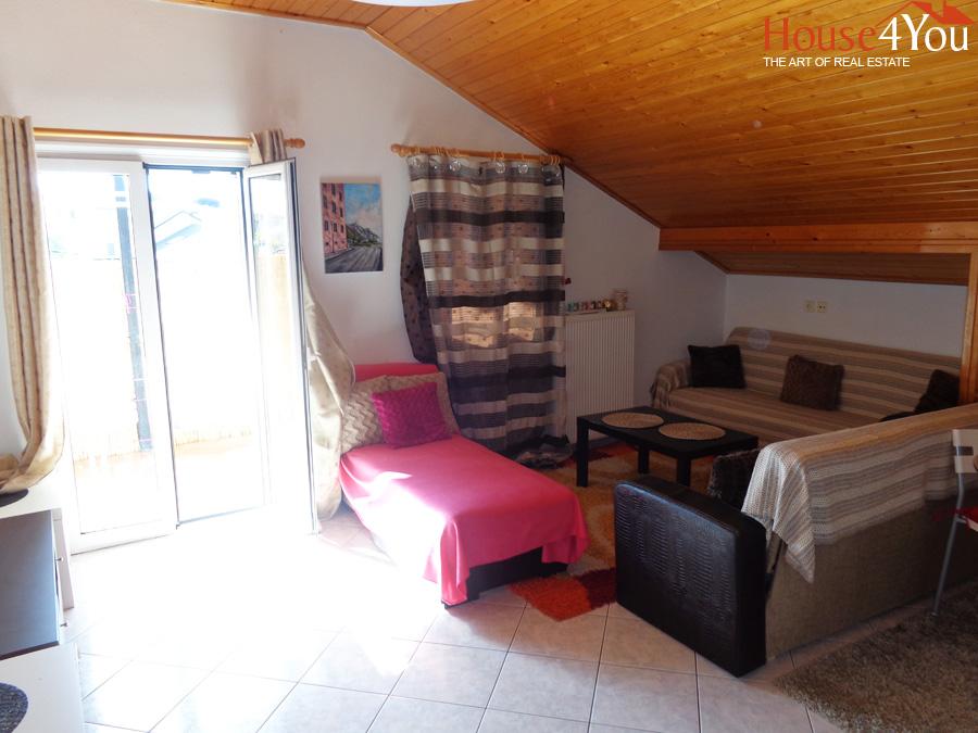 Πωλείται δυάρι διαμέρισμα 55 τμ. σοφίτα 3ου ορόφου στην Ανατολή Ιωαννίνων πίσω απο το Γιαννιώτικο Σαλόνι