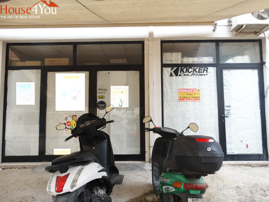 Ενοικιάζεται ισόγειο κατάστημα 47 τ.μ. στην Νικολίδη 11 στα Ιωάννινα