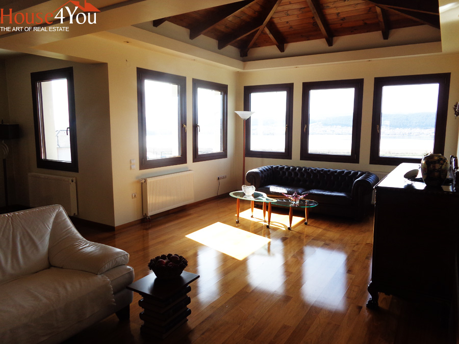 Πωλείται μονοκατοικία πολυτελείας 331τμ. με πανοραμική θέα κατασκευής 2010 στην Αμφιθέα Ιωαννίνων
